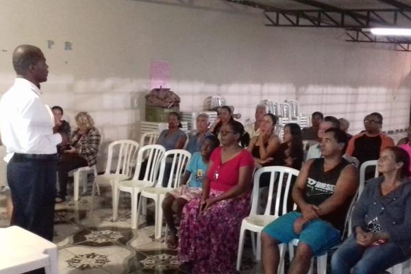 Jorge Amaro cobra mais segurança no bairro Padre Lúcio em Águas Lindas de Goiás
