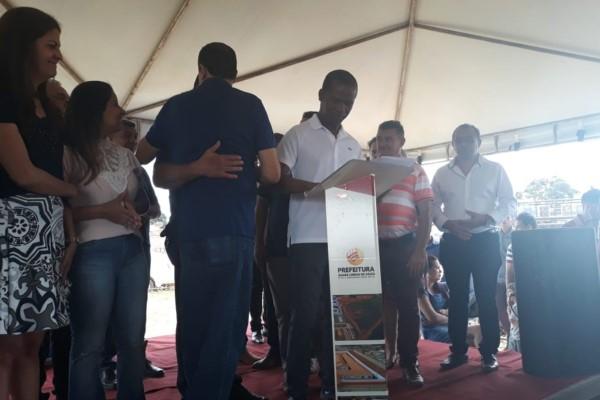 Jorge Amaro participa de evento na UBS de Águas Lindas de Goiás