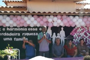 Jorge Amaro prestigia evento na Creche Mundo Encantado