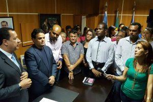 Jorge Amaro garante construção de unidade de saúde em Águas Lindas de Goiás (GO)