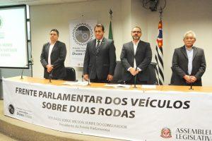 Jorge Wilson lança Frente Parlamentar dos Veículos sobre Duas Rodas em SP