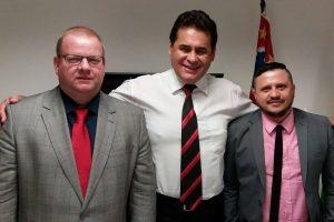 Jorge Wilson recebe reivindicações do presidente da Ordem dos Músicos do Brasil