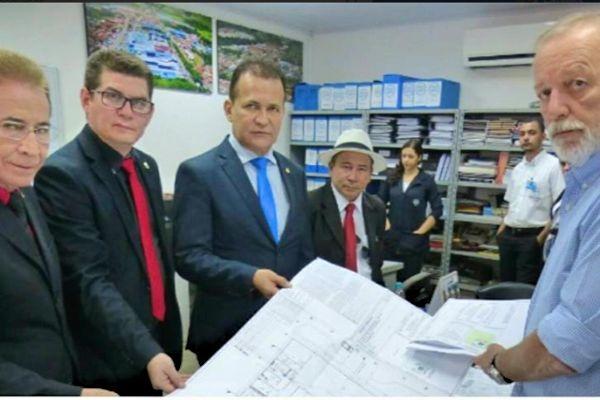 Jory Oeiras trabalha pela implantação do Hospital do Câncer de Barretos no Amapá