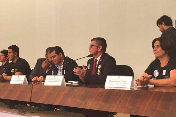 Jory Oeiras defende criação da polícia penal durante audiência no Senado