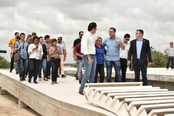 Jory Oeiras faz visita de inspeção às obras do Hospital Universitário do Amapá