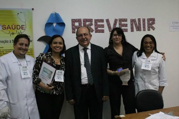 Arimateia promove Ato do Novembro Azul e Negro e visita HGE 2 em Salvador