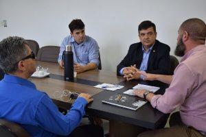 José Freitas discute a criação de Central de Intérpretes em Porto Alegre