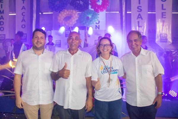 Joselito Nunes prestigia a abertura dos jogos estudantis em Jaboatão dos Guararapes