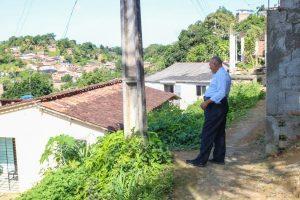 Joselito Nunes atende demandas dos moradores do bairro Vila Rica