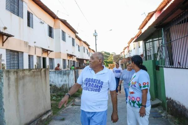 Joselito Nunes atende demandas dos moradores do bairro Fazenda Suassuna