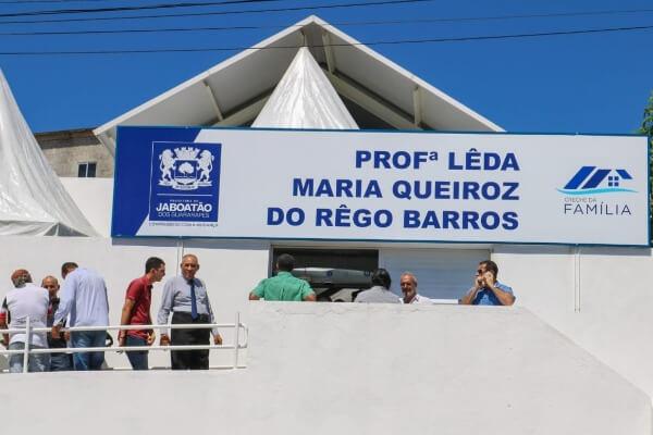Joselito Nunes prestigia inauguração de creche em Jaboatão dos Guararapes
