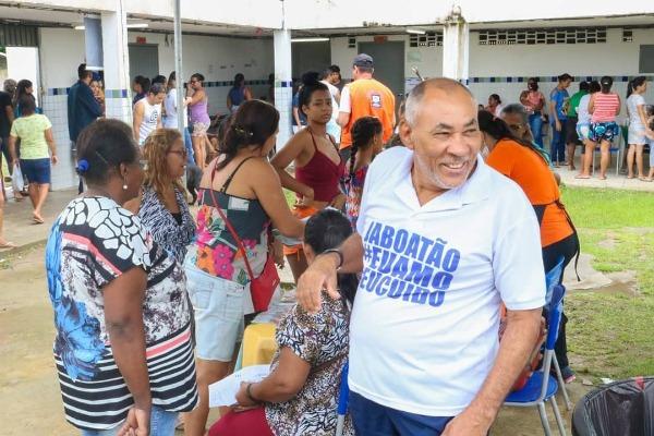 Joselito Nunes prestigia ação social na comunidade Dois Carneiros de Baixo