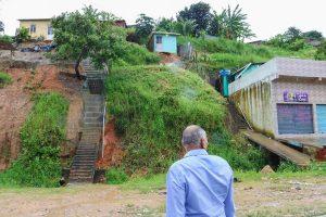 Joselito Nunes alerta sobre riscos de deslizamentos em Jaboatão