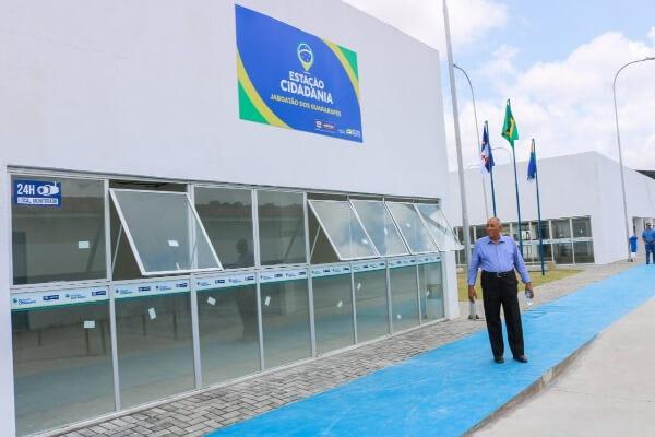 Joselito Nunes acompanha vistoria da Estação Cidadania