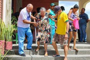 Joselito Nunes prestigia ação social no bairro Sucupira