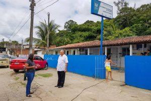 Joselito Nunes visita UBS em Marcos Freire