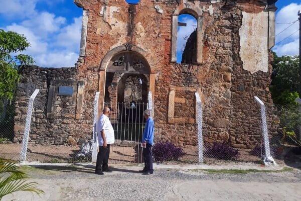 Joselito Nunes visita centro histórico de Jaboatão dos Guararapes