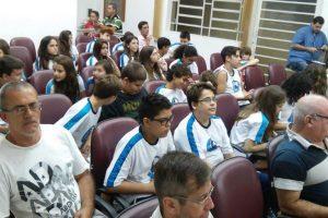 Juliano Feliciano esclarece dúvidas de estudantes sobre Processo Legislativo