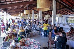 Movimento do PRB reúne mais de 300 pessoas para celebrar o Dia Nacional da Pessoa Idosa