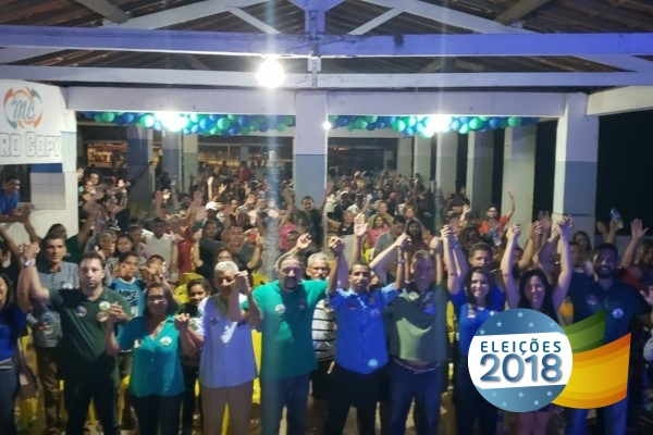 Moradores de Araioses declaram apoio a Júnior Verde