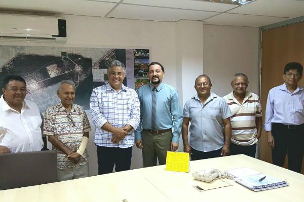 Júnior Verde incentiva a Carcinicultura em Humberto de Campos (MA)