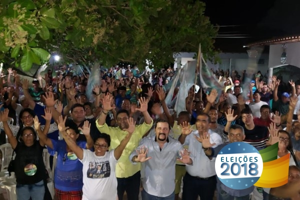 Republicanos reúnem multidão em Pedreiras (MA)