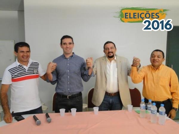 Júnior Verde vai a Açailândia e confirma apoio do PRB à pré-candidatura de Dr. Benjamim a prefeito