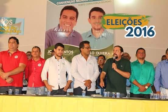 Júnior Verde participa de convenções e reafirma apoio a candidatos do PRB