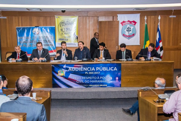 Júnior Verde debate projeto que trata da organização administrativa da Polícia Civil