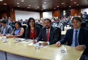 Júnior Verde defende desenvolvimento da produção na VII Reunião do Parlamento Amazônico