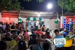 Júnior Verde mostra força política em Paraibano