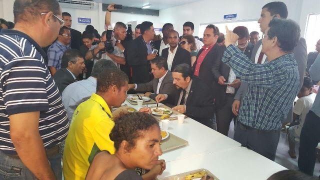 Júnior Verde prestigia inauguração do Restaurante Popular em São Luís