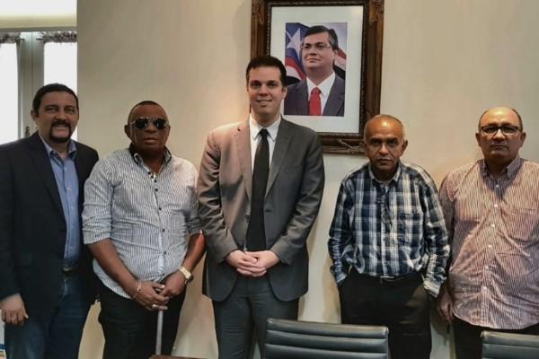 Júnior Verde retoma diálogo em busca da correção salarial para policiais civis no MA