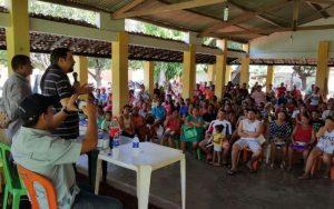 Deputado Júnior Verde se reúne com trabalhadores em Araioses