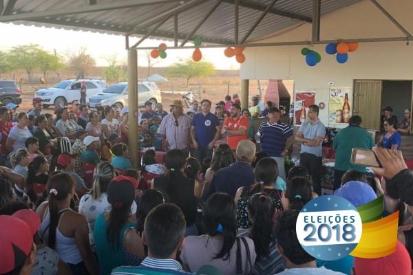 Pescadores das colônias Triunfo e Santa Helena reafirmam apoio a reeleição de Jutay
