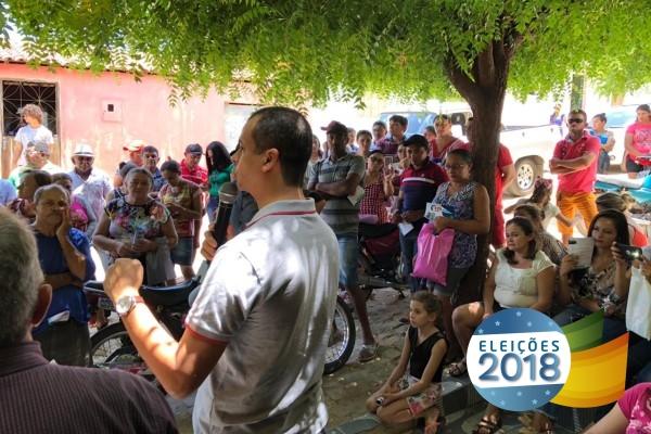 Jutay Meneses se reúne com pescadores de Igaracy e reafirma compromisso com a categoria