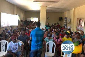 Jutay Meneses vai ao Sertão e se reúne com pescadores de Uiraúna e Bonito de Santa Fé