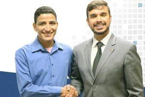 Kenedy Wállafy se reúne com Léo Portela em busca de melhorias para Pompeu (MG)