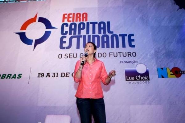Bate-papo motivacional com a ex-jogadora de vôlei Leila Barros