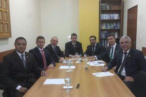 Lindomar Garçon busca apoio para conclusão de obras do Espaço Alternativo de Rondônia
