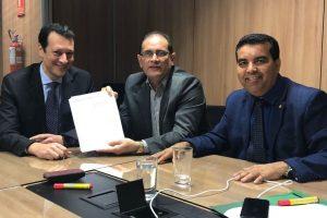 Deputado e governador de Rondônia buscam solução para dívidas do estado