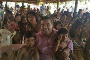 Lindomar Garçon anuncia a liberação de R$ 500 mil para os indígenas de Rondônia