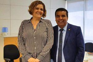 Lindomar Garçon busca liberação de recursos para a infraestrutura de Porto Velho