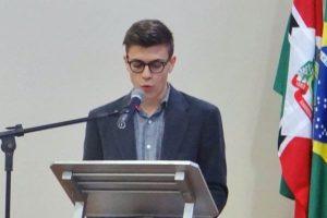 Jovem republicano pede a criação de banco de ideias na Câmara de Faxinal