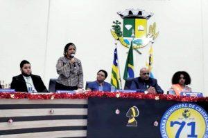 Luciana Cândida promove solenidade sobre o Dia da Consciência Negra em Cristalina