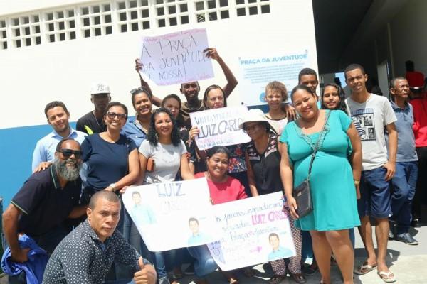 Atuação de Luiz Carlos garante construção de praça em Canabrava