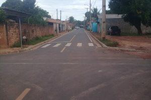 Moradores ganham asfalto depois de indicação de Manoel Neves