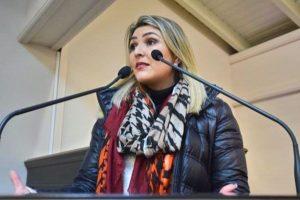 Manu Caliari defende convênio para a contração ode estagiários em Gramado