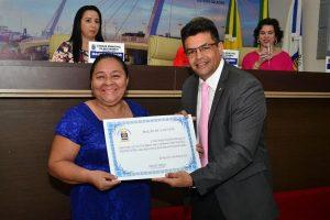 Câmara de Rio Branco (AC) homenageia mulheres em sessão solene
