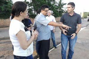 Manuel Marcos visita bairro em Rio Branco (AC) e solicita melhorias para o local